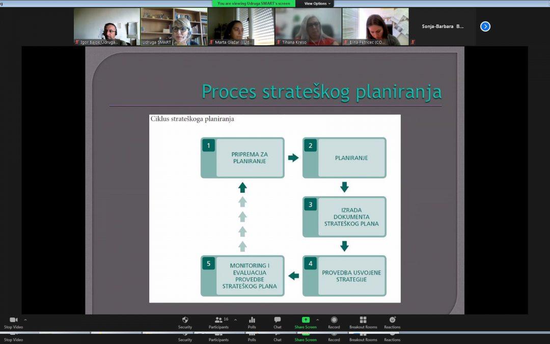 Održana radionica o osnovama strateškog planiranja